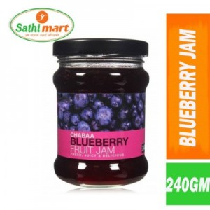 Chabba Blueberry Fruit Jam, 240gm