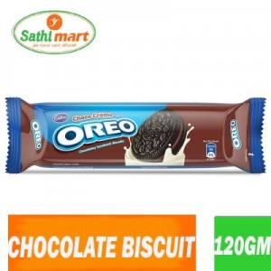 Cadbury Oreo Chocolate Sandwich Biscuit, 120gm