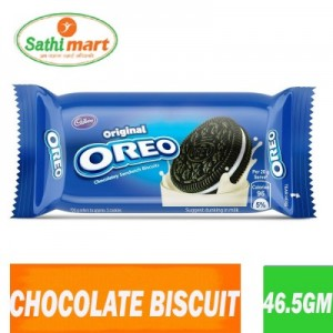 Cadbury Oreo Chocolate Sandwich Biscuit, 46.5gm
