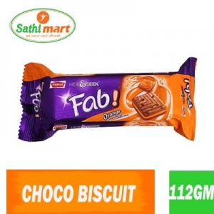 Parle Hide & Seek Fab Orange Biscuit, 112gm