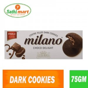 Parle Milano Choco Delight Centre Filled Cookies, 75gm