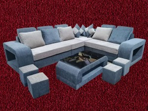 Square Handle L sofa