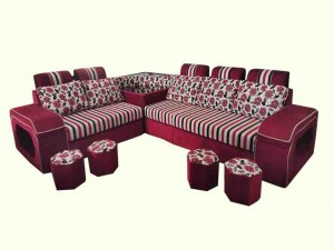 Luxury L Sofa