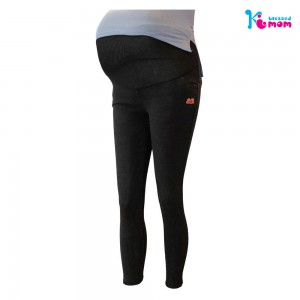 Black Stretchable Maternity Jeans Pant