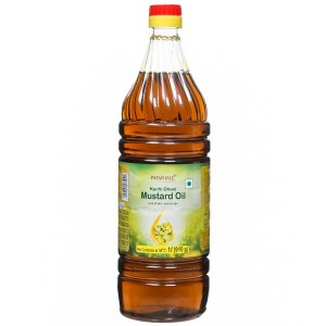 Kachi Ghani Mustard Oil -1 Ltr