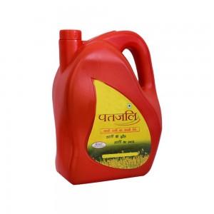 Kachi Ghani Mustard Oil -5 Ltr