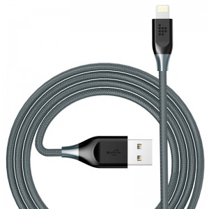 Double Braided Nylon 4ft Lightning Cable