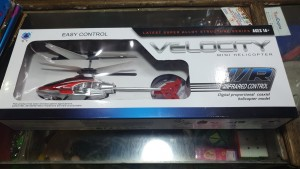 velocity RC flying helicopter