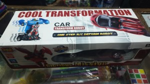 transformer RC robot car