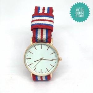Striped Wrist Watch