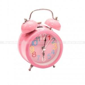 Baby Pink Alarm Clock