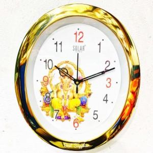 Oval Shaped Fancy Wall Clock