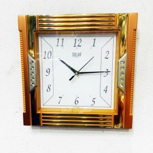 Square Shaped Fancy Wall Clock
