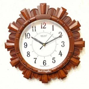 Fancy Wooden Framed Wall Clock