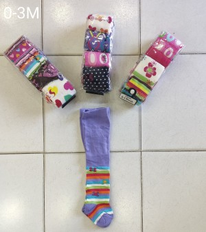 babies warm this winter with these beautiful printed stockings