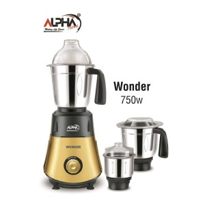 Alpha Home Mixer & Grinder Wonder 750 W