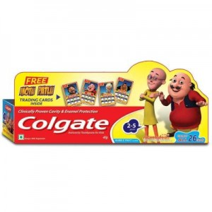 Colgate Bubble Fruit Flavour (2-5yrs), 40gm