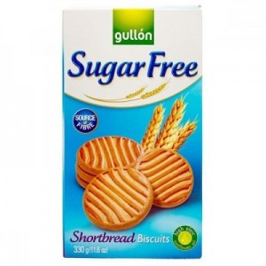 Gullon No Added Sugar Shortbread Biscuit, 330 gm