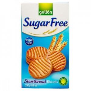 Gullon No Added Sugar Shortbread Biscuit, 330 gm