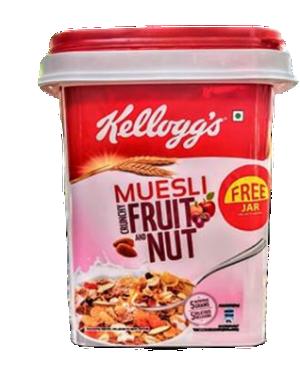 Kellogg's Muesli Fruit & Nut - 1kg (Free Jar)