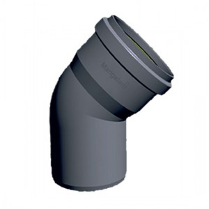 "PVC Ring-Fit Bend 87.5° 4"""