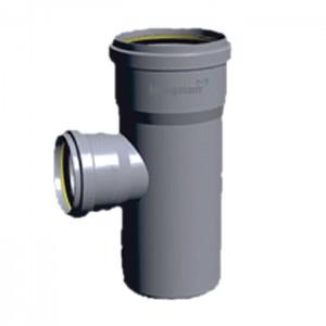 "PVC Ring-Fit Reducer Tee 4X2.5"""