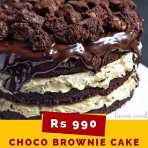 Choco Brownie Cake