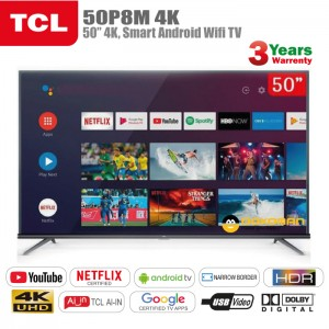 "TCL 4K50""UHD TV"